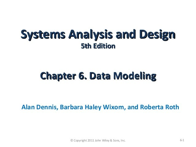 Rangkuman Buku System Analysis And Design Chapter 3 – 5